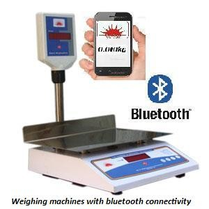 Bluetooth weighing system