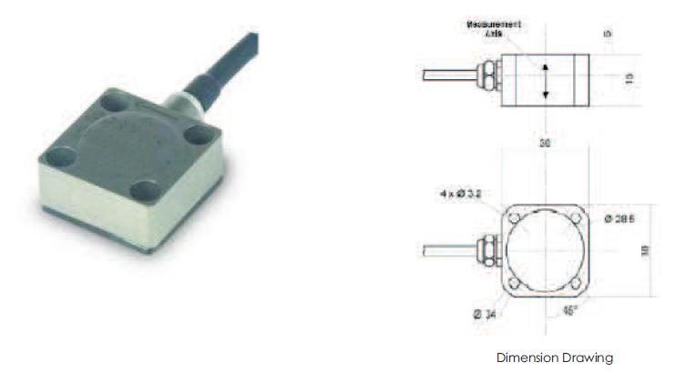 Strain Gauge Accelerometer