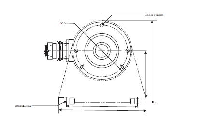 Web tension load cell 6