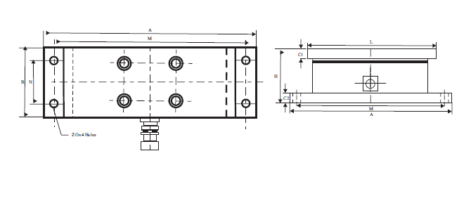 Web tension load cell 8
